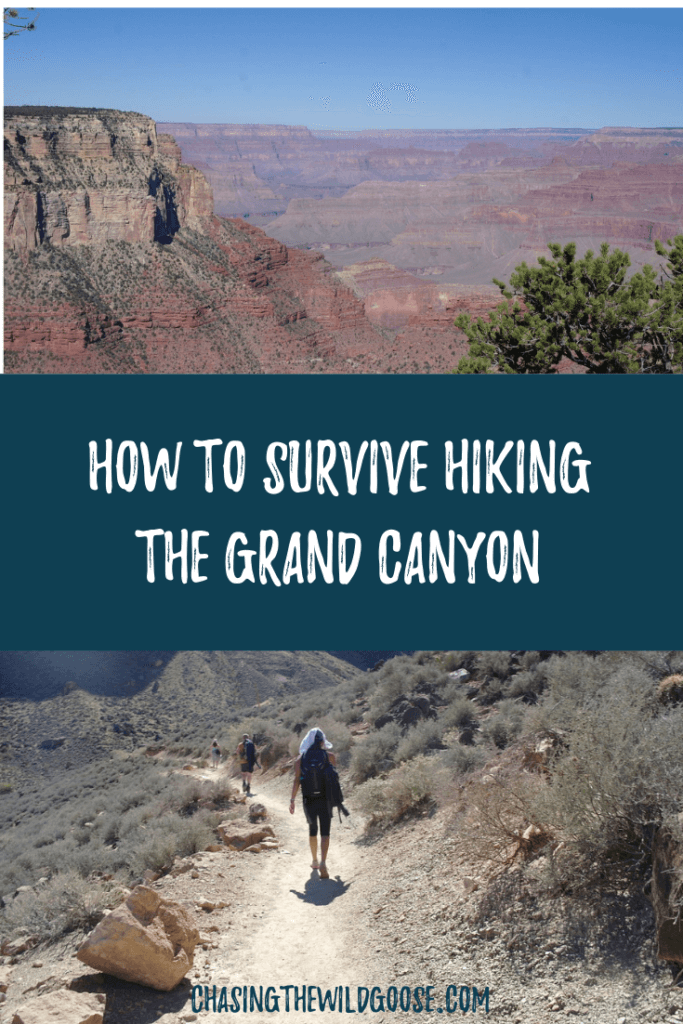 My top tips for hiking the Grand Canyon Bright Angel Trail. Great for people who don't often hike!