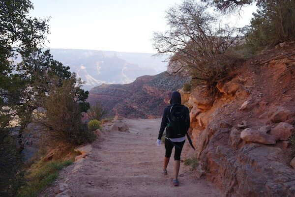 Hiking the Bright Angel Trail 3