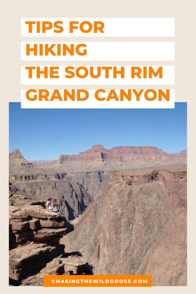 Tips for hiking the south rim grand canyon