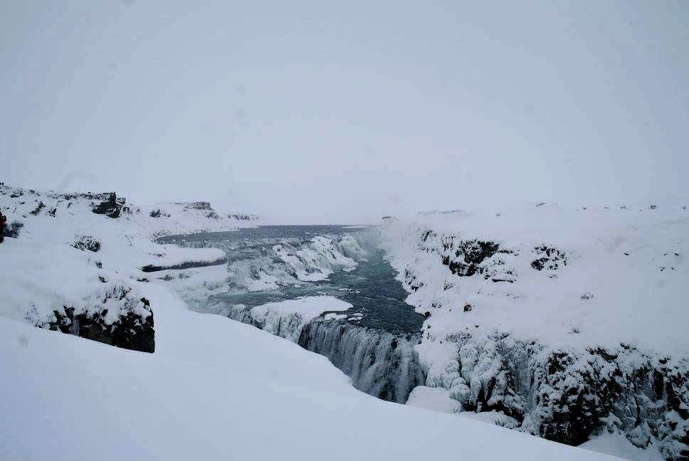 Iceland during wintertime