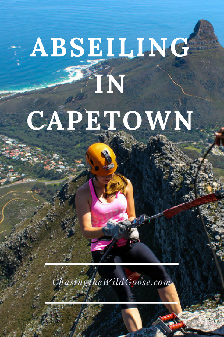 Looking for things in to do in Capetown, South Africa? Check out this post for my experience abseiling Table Mountain!
