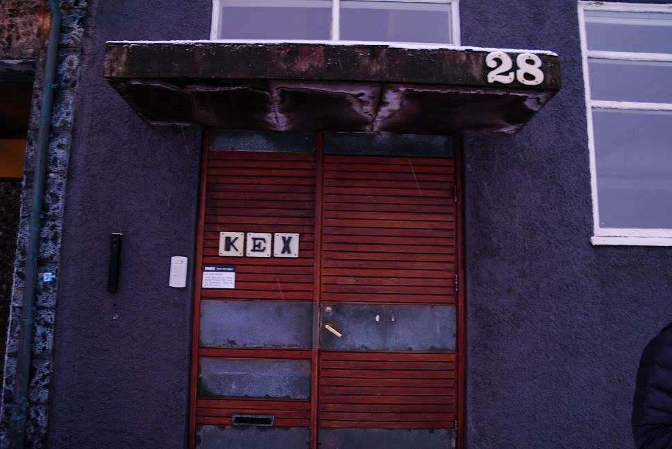 kex hostel door
