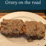 """Vegan """"Biscuits"""" and Gravy on the Road"""