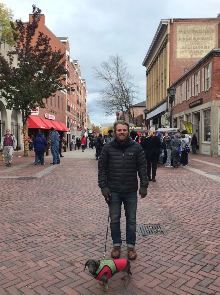 Man standing in Salem: Van life guide to Salem, MA
