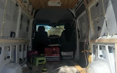 Flooring plan ideas for a sprinter campervan