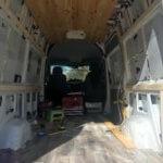 Sprinter Van Build: Flooring