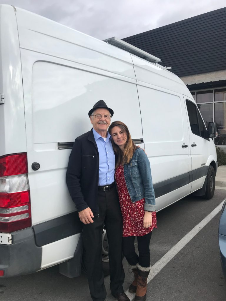 Van Life means visiting more family