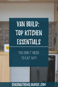 Ready to build your sprinter van kitchen, learn our favorite kitchen appliances for your tiny home.