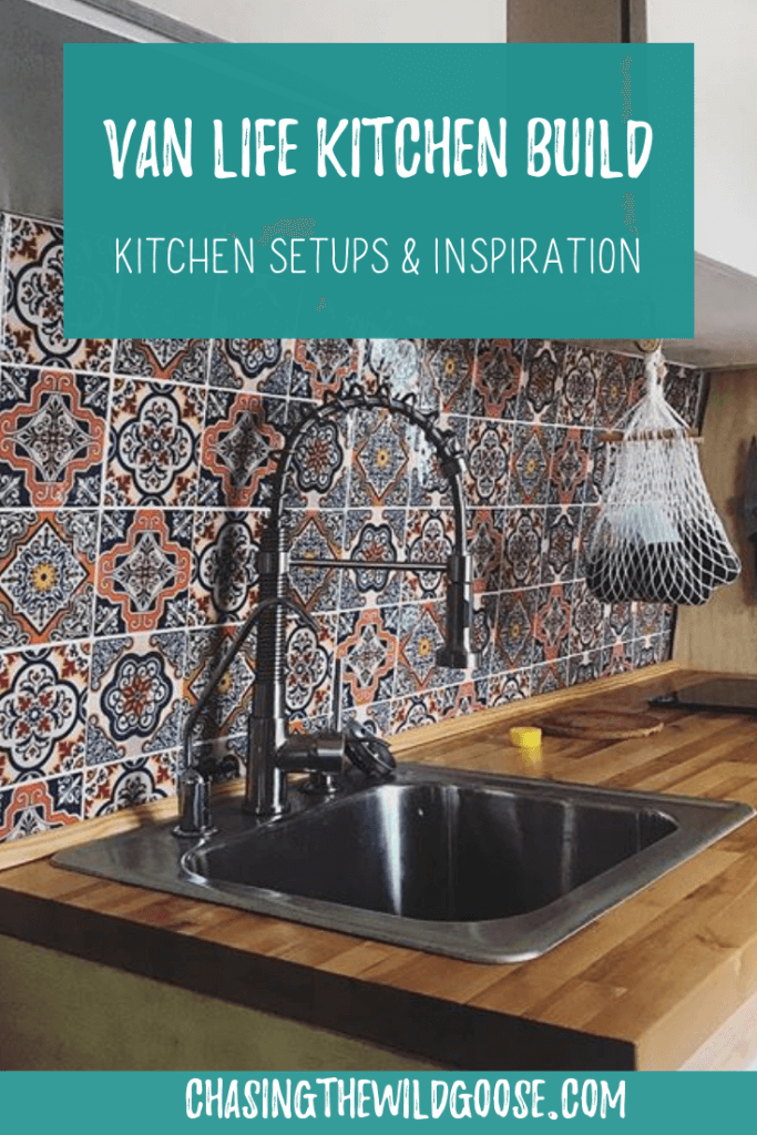 Learn how to DIY build your tiny home kitchen. The best kitchen appliances to use in your campervan, tinyhome, sprinter van conversion van and more!