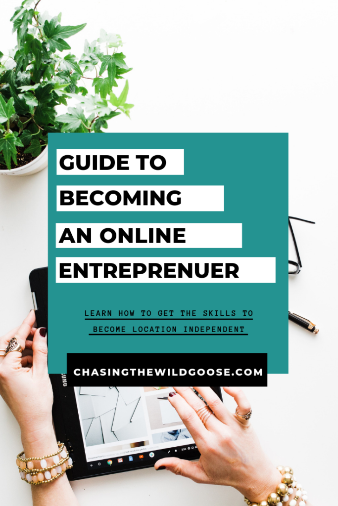 A guide to becoming an online entrepreneur