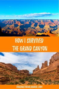 How to survive hiking the grand canyon. hiking tips for the grand canyon.