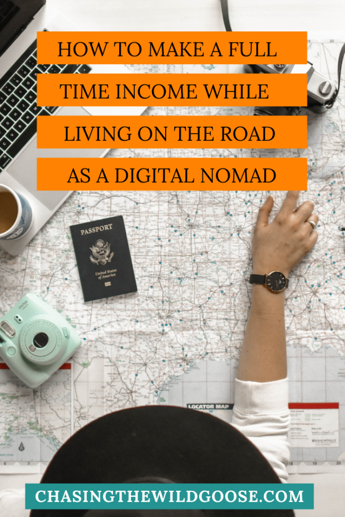 How to make a full time income while living on the road as a digital nomad 2