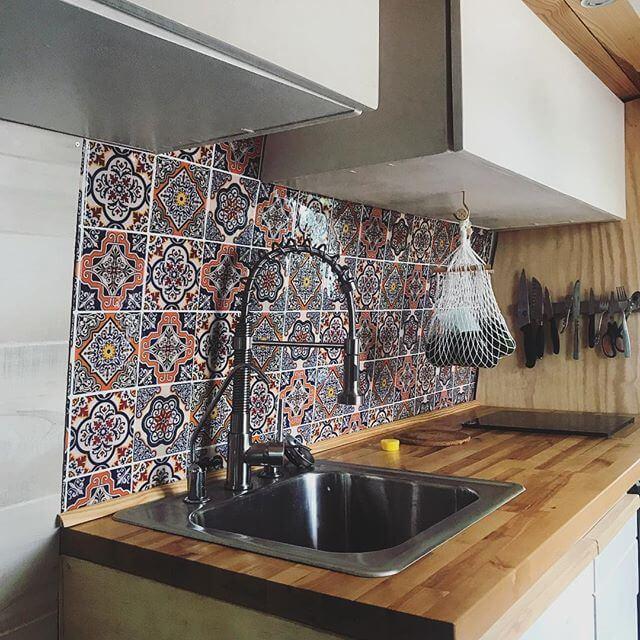 vanlife Kitchen build