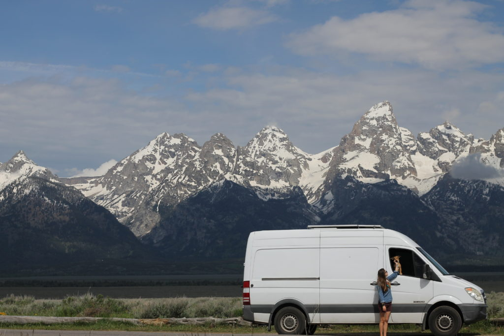 Van life guide to Jackson Hole, Wyoming