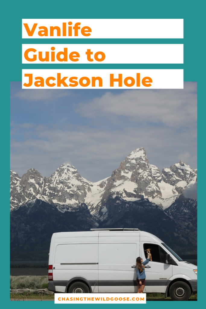 Van life guide to Jackson Hole