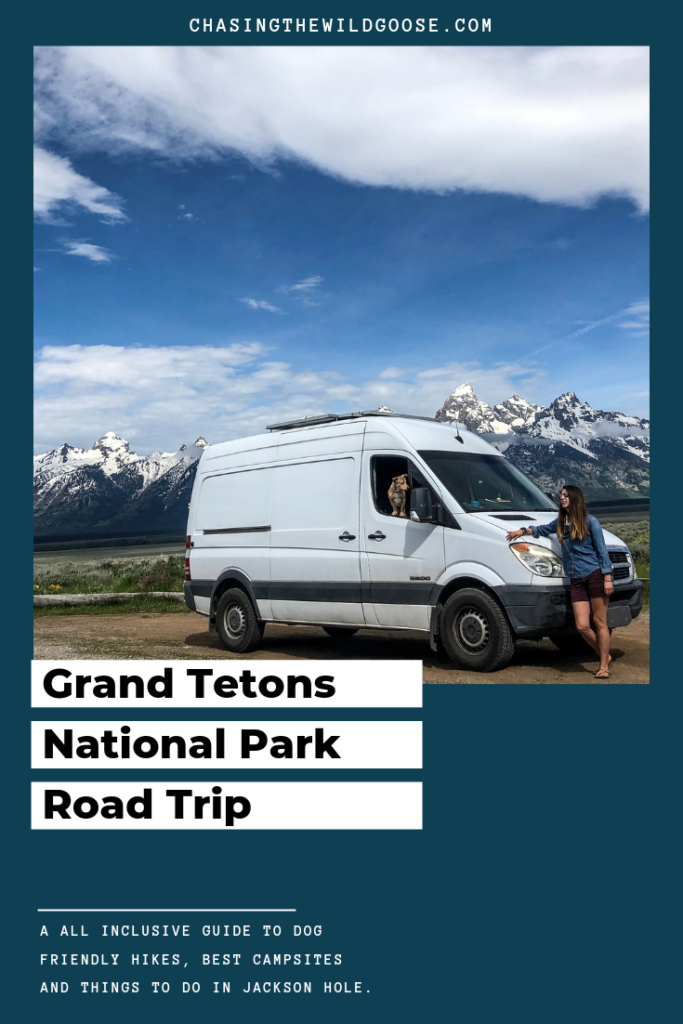 Grand Tetons National Park Road Trip