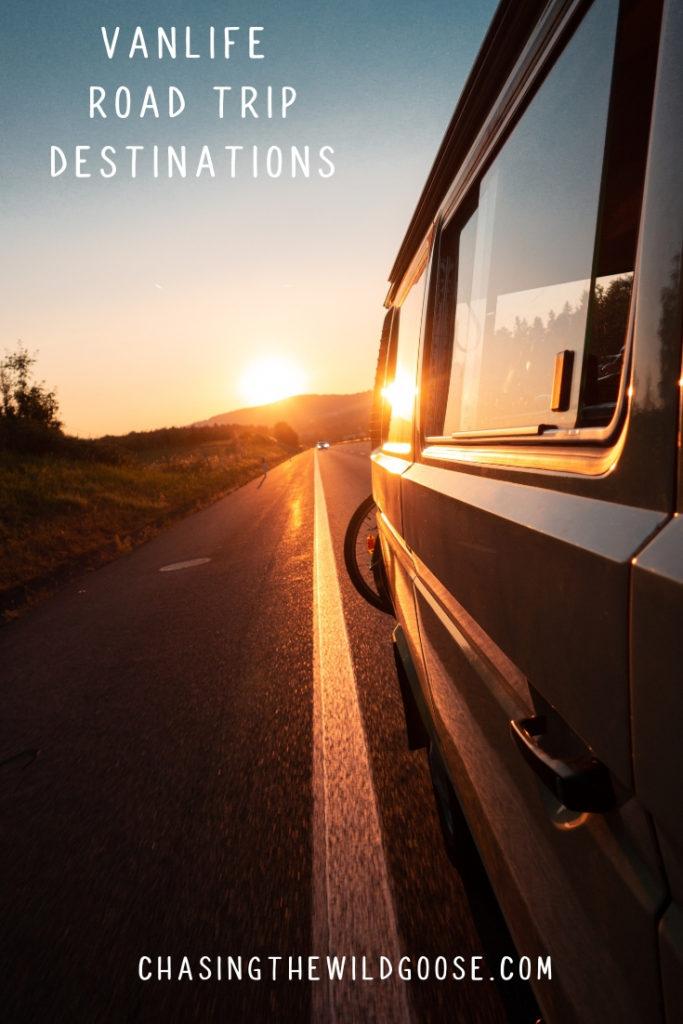 Vanlife road trip destination guide