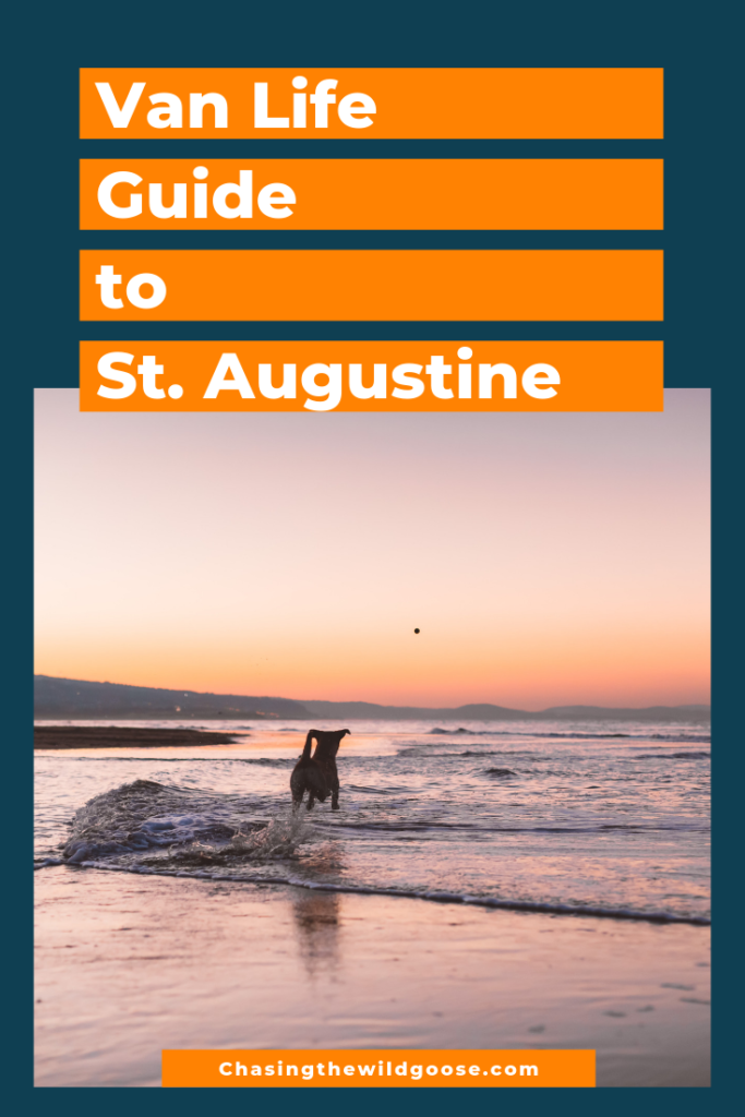 Vanlife guide to st. augustine
