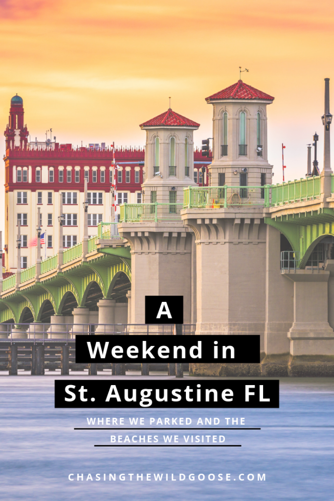 A weekend in St. Augustine