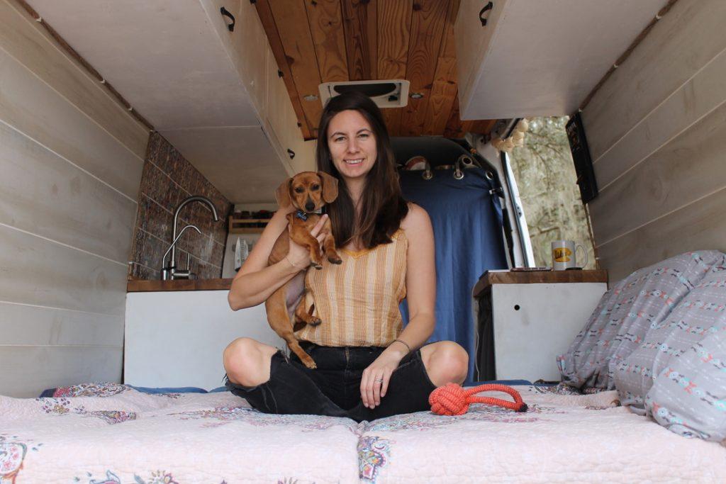 start a van life blog