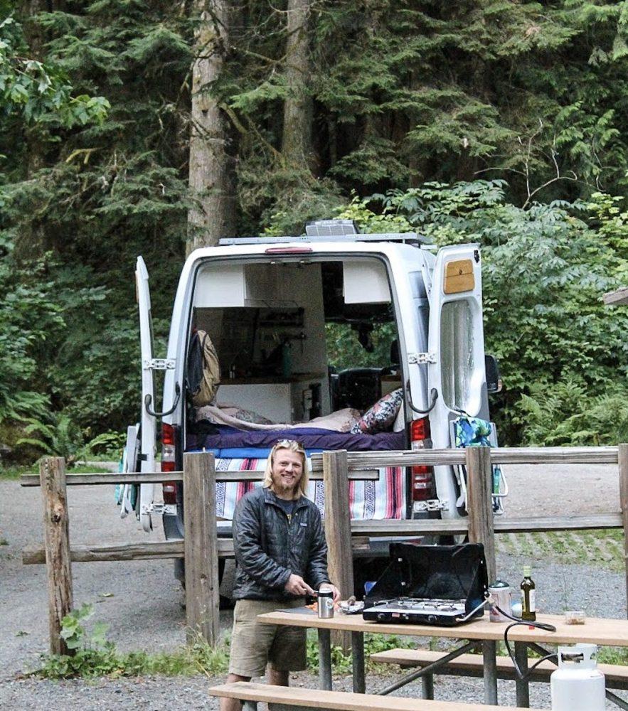 vanlife camping