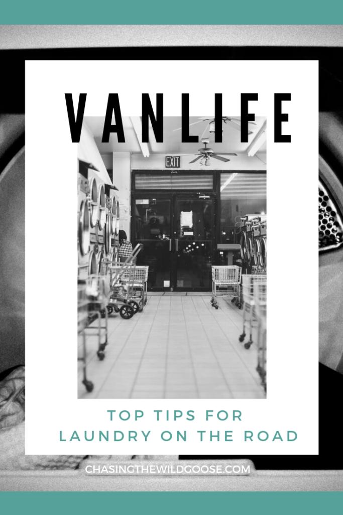 vanlife laundry