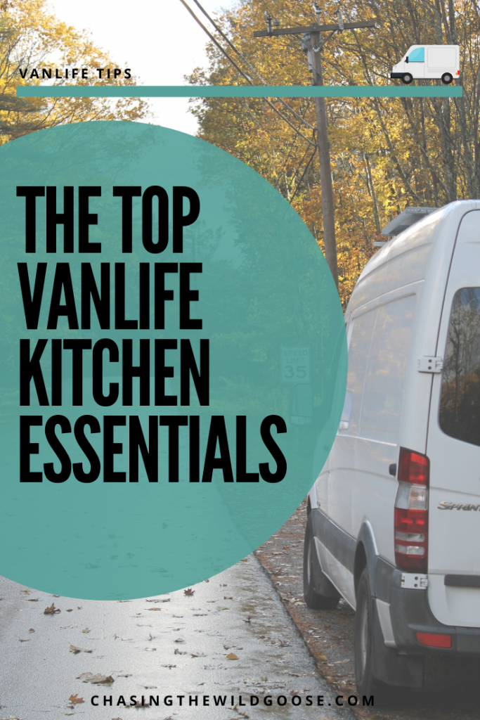 Top Vanlife Kitchen Essentials