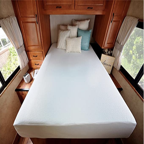 best mattress for your campervan