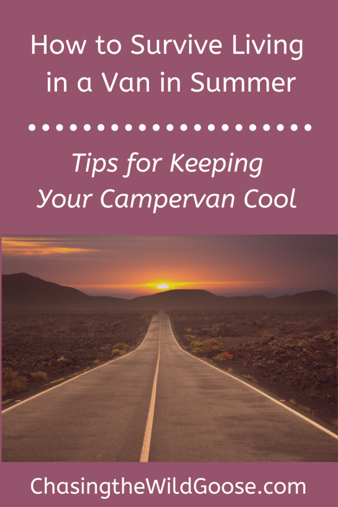 how to keep van cool in summer