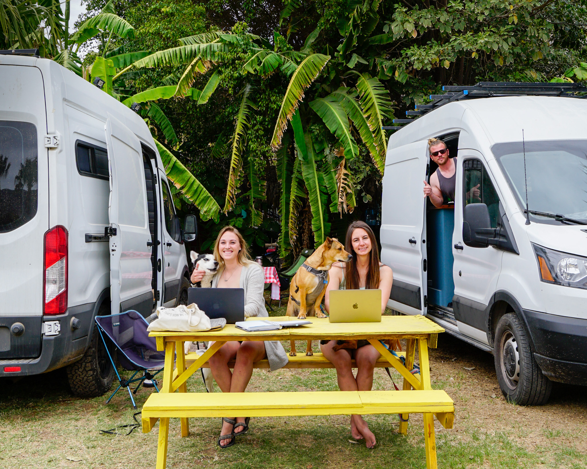 Earn a remote income - van life